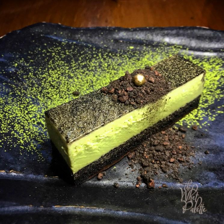 Chocolate & Matcha Slice