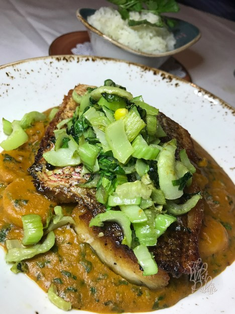 Pan Seared Local Snapper, and a Badass Curry