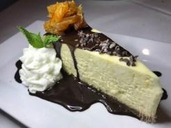 Orange and Dark Chocolate Cheesecake