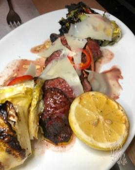 Charred Hanger Steak