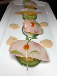 Local Smoked Cobia Crudo