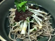 Soba Shiitake Salad