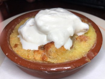 Michu's BREAD PUDDING