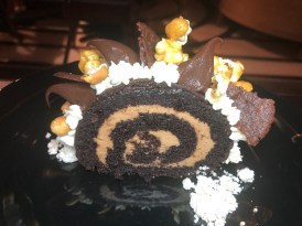 Turtle Cake Roulade