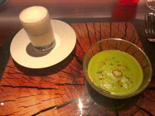 Foie Gras Royale + Zucchini Espuma