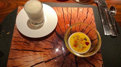 Foie Gras Royale + Butternut Squash Espuma