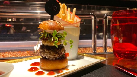 Le Burger: beef and foie gras burger