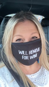 Will remove for wine. Of course!