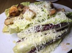 Tableside Caesar Salad: anchovy, garlic croutins, parmigiano