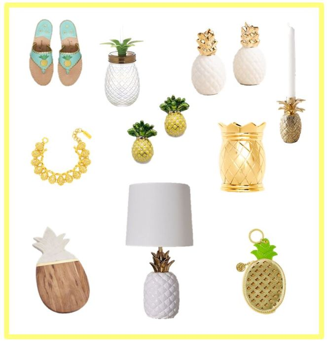 pinapple collage