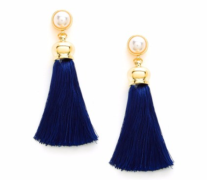 navt tassel earrings