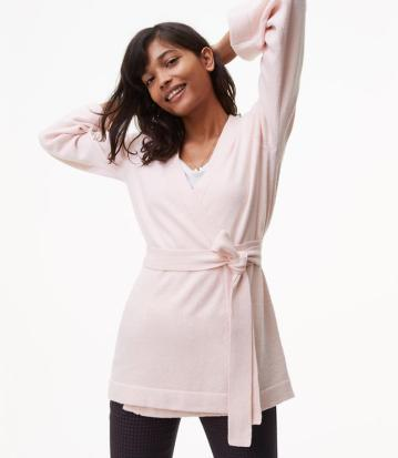 pink loft sweater 30% off