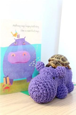 Mooooom, this hippo isn't taking me to the noms!