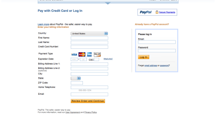 PayPal: a simple way to add e-commerce or a shopping cart to your existing website