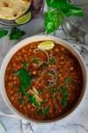 Restaurant Style Chana Masala