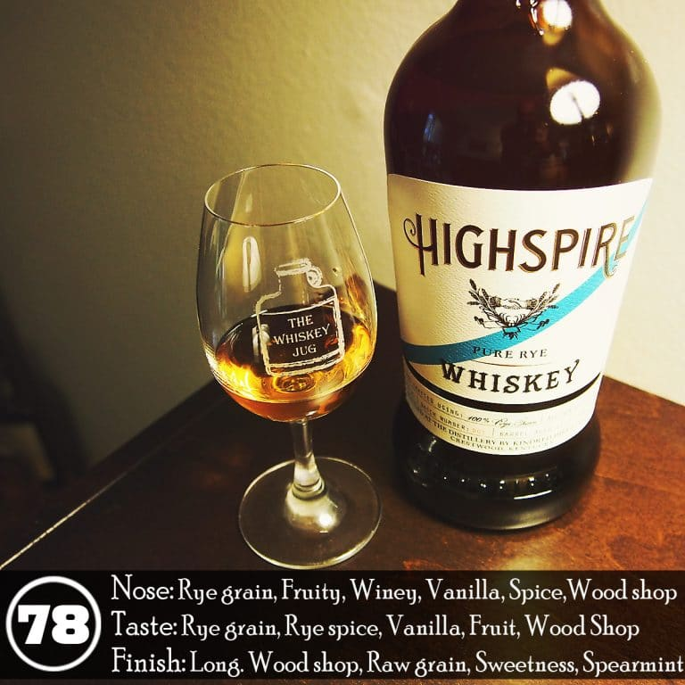 highspire rye whiskey review the whiskey jug
