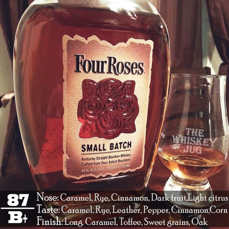 Four Roses Small Batch Review The Whiskey Jug