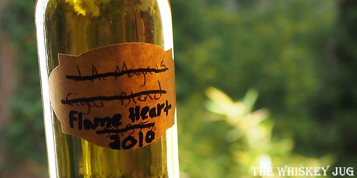 Compass Box Flaming Heart Label