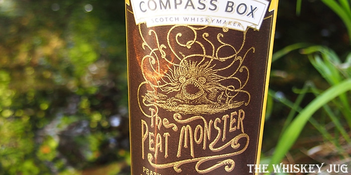 Compass Box The Peat Monster Label