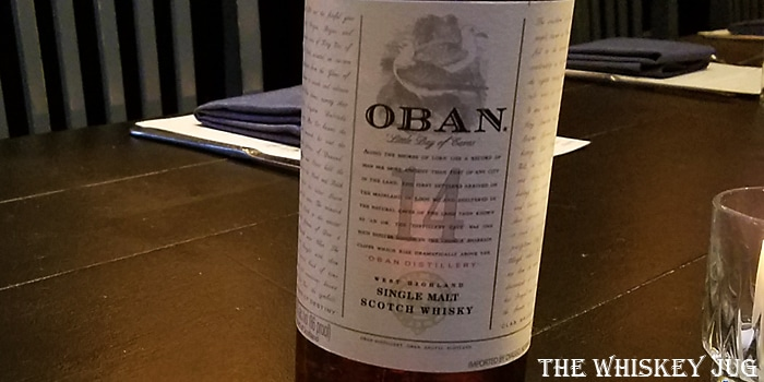 Oban 14 Years Label