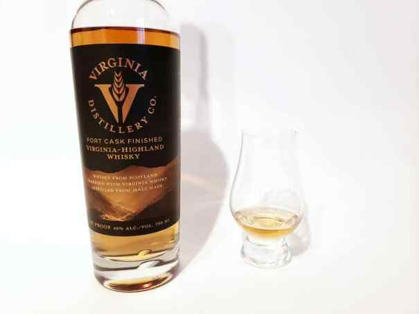Virgina-Highland Port Finished Whisky Color