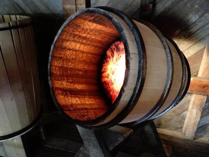 Charred Barrel
