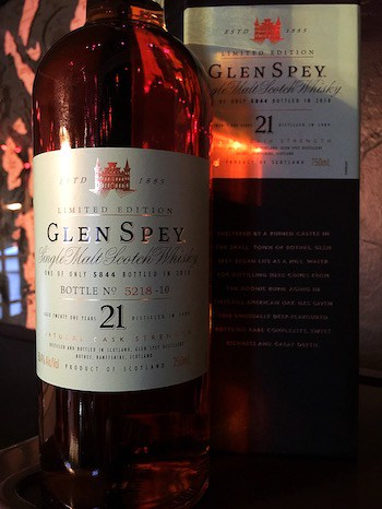 Glen Spey 21-Year-Old
