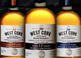 West Cork Cask Finished Whiskies