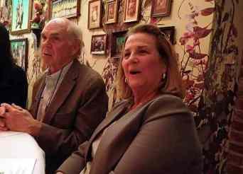 Julian Van Winkle and his wife, Sissy