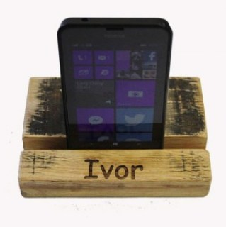 Scotch Whisky Barrel Mobile Phone Holder - PERSONALISED