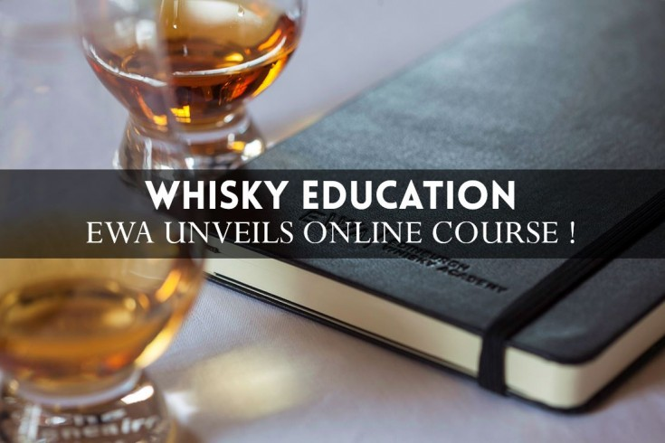 You can now pass a whisky diploma... Online !