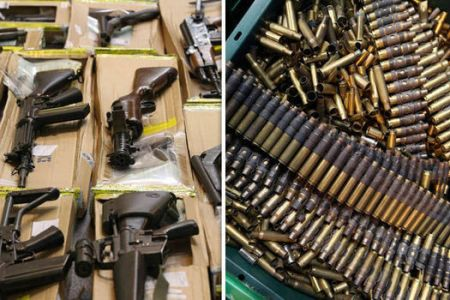 Police Uncover Large Cache Of Arms In Abuja