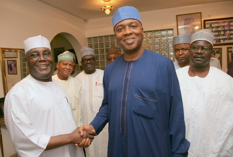 Image result for Atiku Supported Saraki To Be Senate President