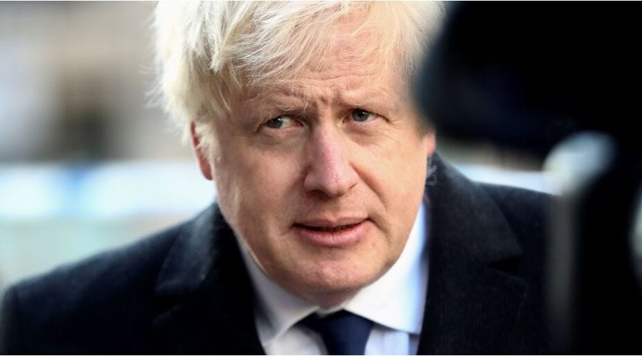 British Prime Minister Boris Johnson Was Taken To Intensive Care On Monday Night After His Coronavirus Symptoms Worsened, Downing Street Said. Johnson Has Asked British Foreign Secretary Dominic Raa
