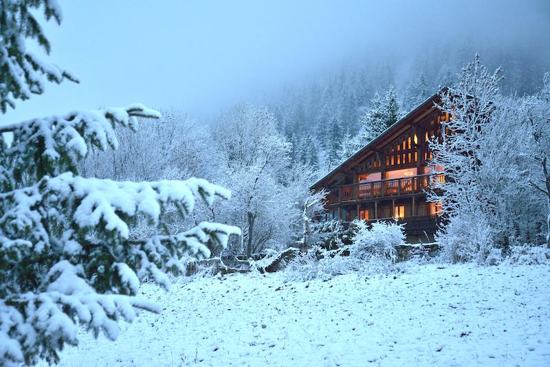 Chalet Cannelle Luxury Ski Chalet In Chatel Portes Du