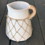 Ener White Short Pitcher