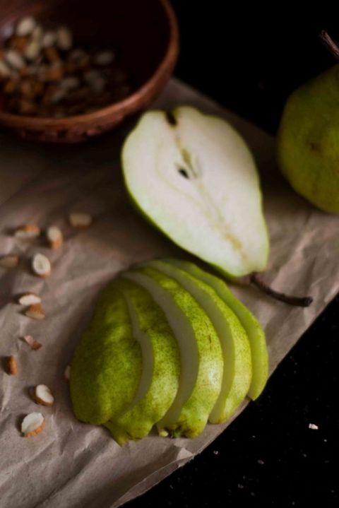 Chocolate Almond Pear Cake 4
