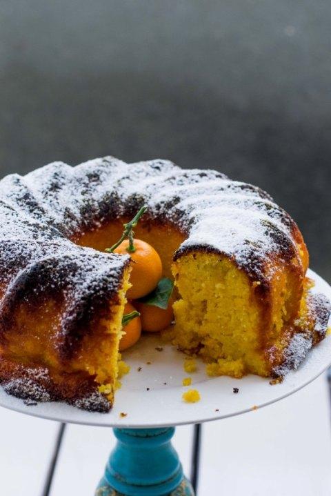 Orange Kamquat Gluten Free Cake 2