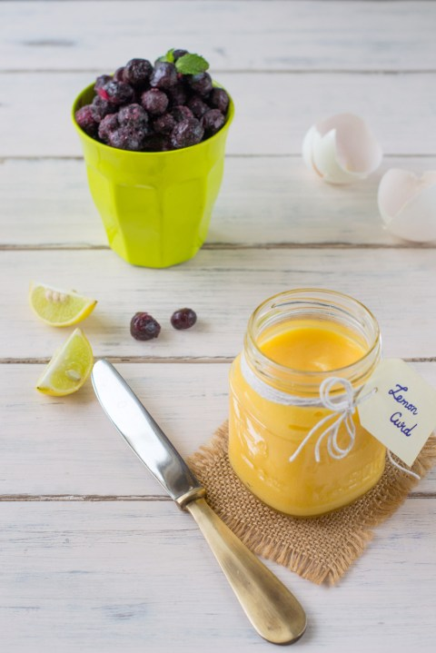 Lemon Curd & Blueberry Gateau 1
