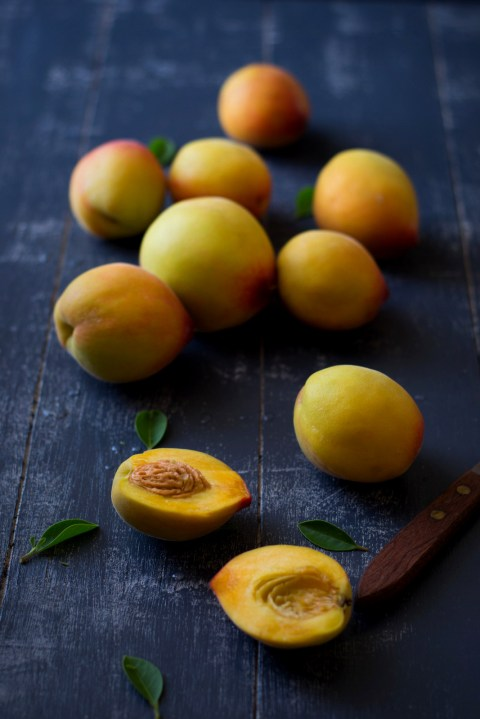 Eggfree Peach Coffee Cake 1