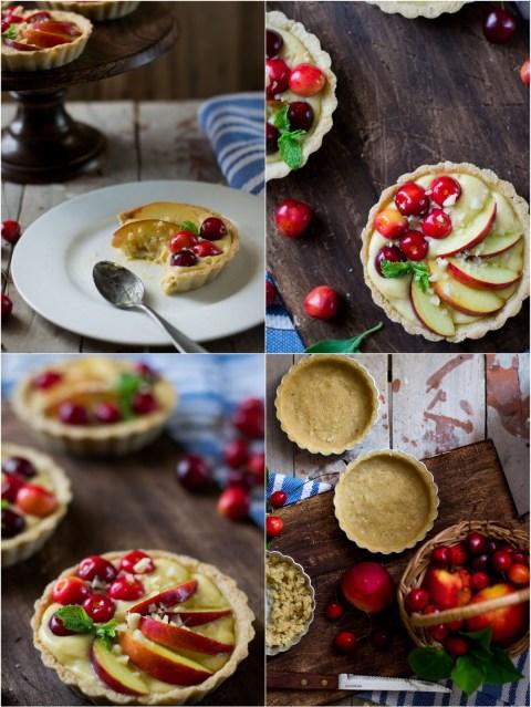 Nectarine & Cherry Almond Tarts 2