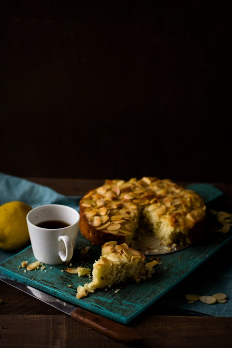 Lemon Rosemary Ricotta Olive Oil Cake 1