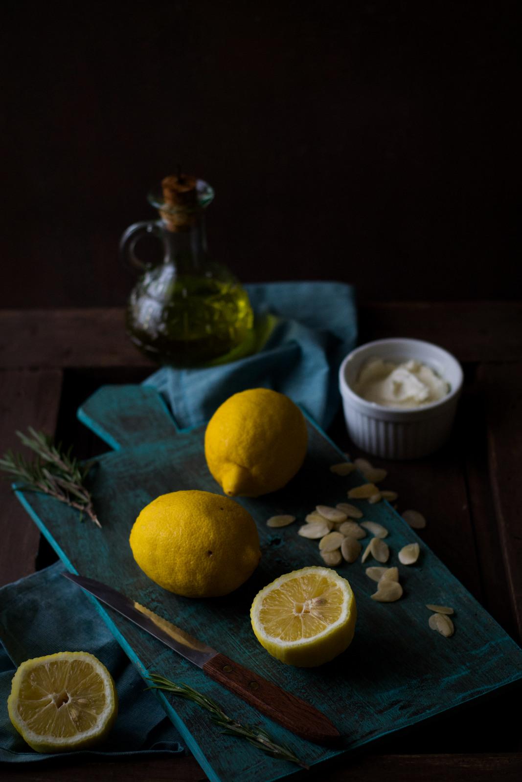Lemon Rosemary Cake Recipe Chez Zee