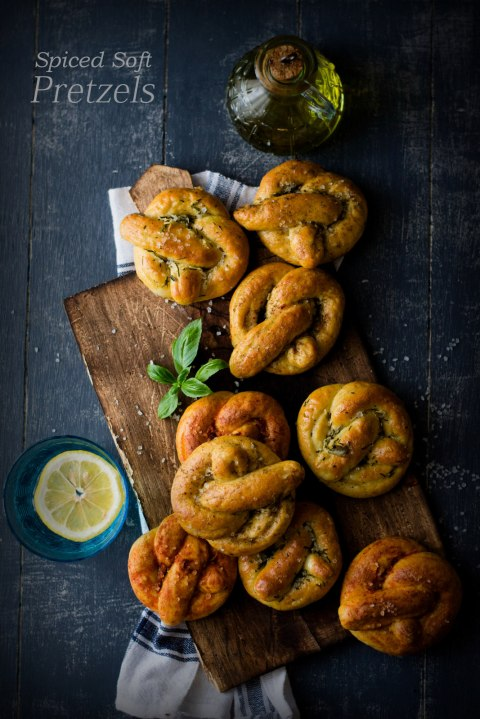 Spiced Soft Pretzels