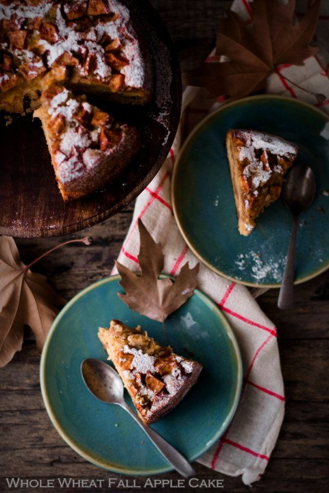 Whole Wheat Fall Apple Cake