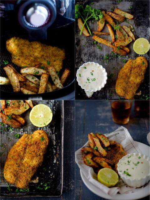 Fish & Chips With Tartar Sauce