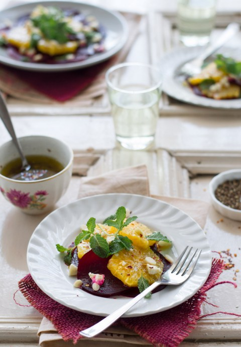 Roasted Beetroot & Orange Salad
