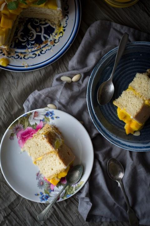 Mango Layer Cake