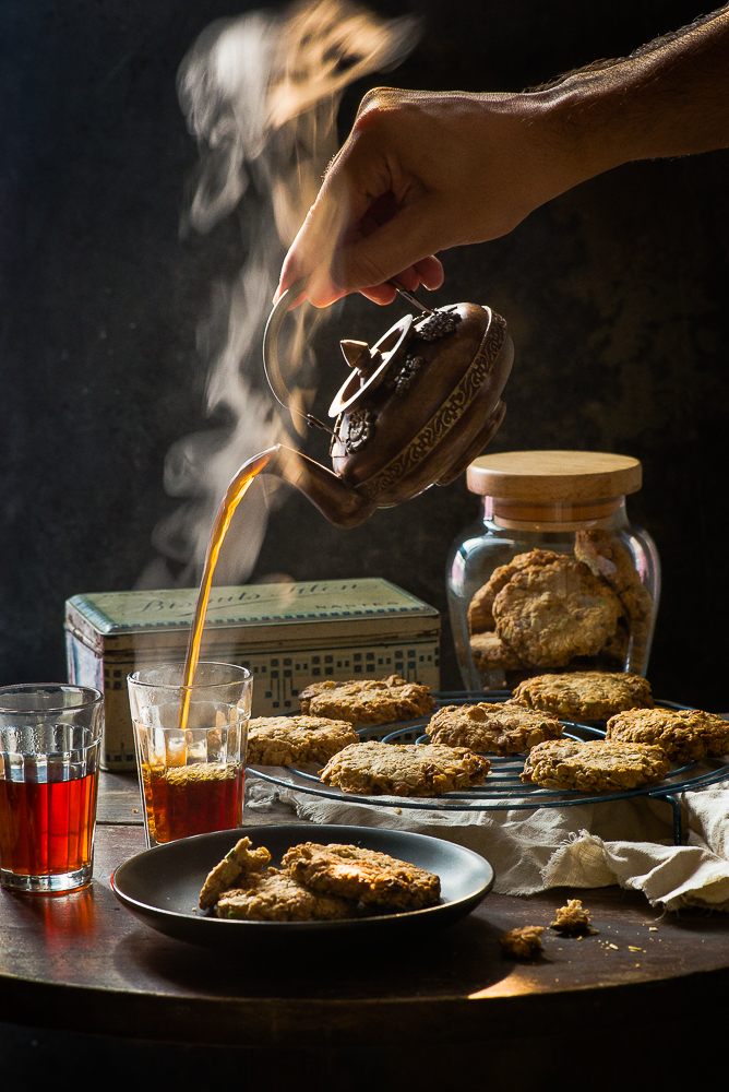 pistachio-raisins-wholemeal-cookies