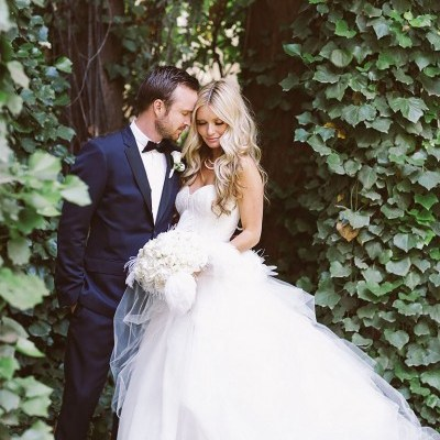 Celebrity Weddings Lauren Parsekian and Katrina Bowden